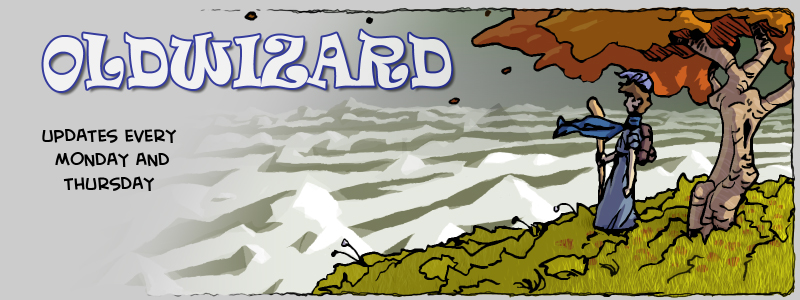 Oldwizard: a fantasy web comic - updates Mondays and Thursdays